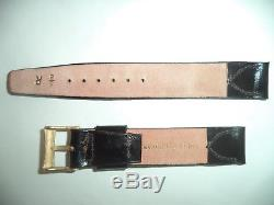1 Shell Cordovan rare Vintage watch band 5/8 NOS Horse leather JB Champion