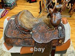 14 Vintage Bona Allen Western Pleasure/ Trail Saddle