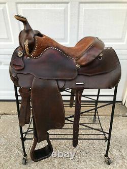 15 BILLY ROYAL Vintage Western Horse Saddle