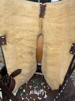 15 Keiths Saddle Shop Western, All Around Ranch Saddle- Vintage Buckstitch