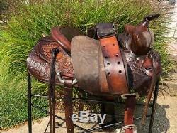 15 Vintage BIG HORN Western Horse Saddle #576