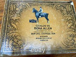 15 Vintage Bona Allen Western Pleasure/ Trail Saddle