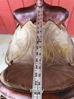 15 Vintage Western Barrel Horse Saddle