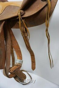 15 Western Saddle Bear Valley Longmont Little Britches Colorado Horse Tack Vtg