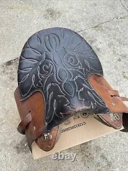 18 Genuine Buena Vista Saddle Vintage Leather Horse Saddle