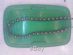 30 Vintage Antique Horse Sleigh Bells Brass 67 Leather Strap