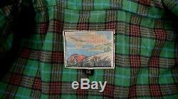 AERO LEATHERS Highwayman Vintage Pferdeleder Horsehide Lederjacke 52 L