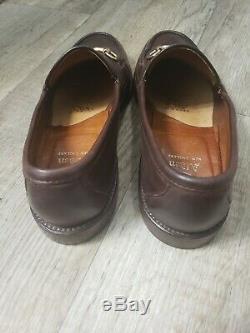 Alden 5726F Horse Bit Loafer Dark Brown Rare Vintage 7.5 bd