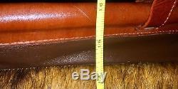 American West Satchel Slouch Attaché Briefcase Weekender Travel Horse Hair$395