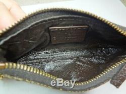 Authentic Gucci Horse Bit GG Monogram Coin Purse. Nice Vintage piece