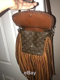 Authentic Louis Vuitton Vintage Boho Bag Large St Cloud Vintage Revamped