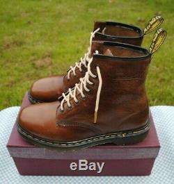 BRAND NEW Vintage CRAZY HORSE Dr. Martens UK 10 MADE IN ENGLAND 90's