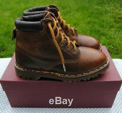 BRAND NEW Vintage Dr Martens CRAZY HORSE Boots UK 5.5 Made in England