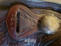 Billy Royal Vintage Show Saddle