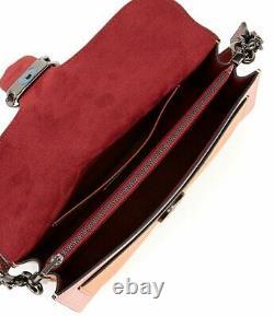 COACH Purse 76105 Tabby Fold Colorblock Shoulder Bag Vintage Pink Multi