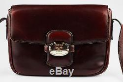 Celine box bag Shoulder cross body Vintage red leather Horse Borsa a Tracolla