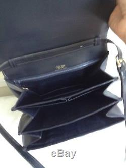 Celine vintage bag with horse and carriage lock