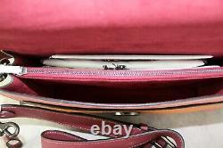 Coach Tabby 26 Color block Shoulder Bag 76105 Vintage Pink Multicolor