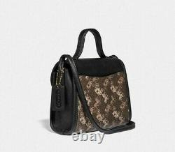 Coach Top Handle Vintage Horse and Carriage Crossbody Bag