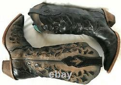 Corral Vintage C1026 Leather Barrel Riding Rodeo Cowboy Western Boots Women's 9