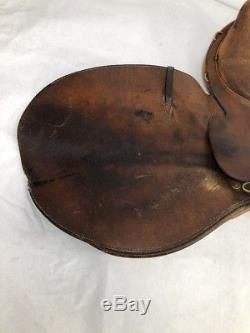Crosby England Olympic Works English Leather Horse Riding Saddle Vintage Belts