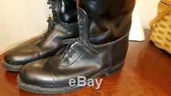 Dehner boots Dress Instep Size 10 D-W Tops Horse Shoe Vintage