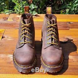 Dr. Martens Doc 1460 Boots England Rare Vintage Aztec Crazy Horse UK 3 US 5