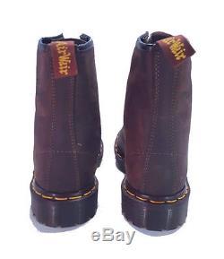 Dr. Martens Doc 1460 Boots England Rare Vintage Aztec Crazy Horse UK 5 US 7