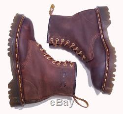 Dr. Martens Doc England Rare Vintage Aztec Crazy Horse 1460 Boots UK 6 US 8