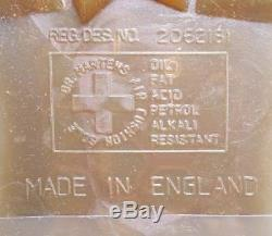 Dr. Martens Doc England Rare Vintage Gaucho Crazy Horse 4 Eye Envy UK6 US8