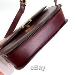 Free shipping CELINE vintage Horse Carriage Handbag Diagonal Shoulder Bag