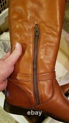 Frye Phillip Tall RIDING harness Boots 76847 WHISKEY 3476847-WHS Size 10 M. NIB