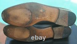 GUCCI Men's Brown Leather horse bit Dress shoes brand Size -7.5 US 8.5