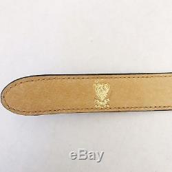 GUCCI vintage authentic 1970 Horse Head buckle 80cm Belt RARE, gorgeous