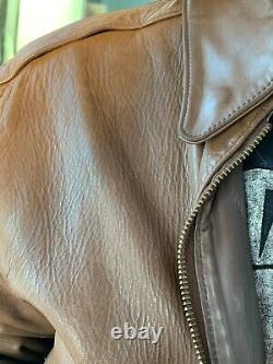 Genuine A2 Airforce Horse Hide Leather Jacket Size 44