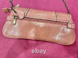 Gucci Pink Studded Horsebit Vintage Shoulder Bag Y2k