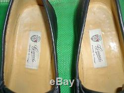 Gucci Vintage Horse Bit Driving Loafers Slip On Shoes Men Sz# 43 M