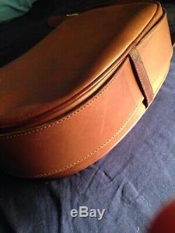 Gucci Vintage Saddle Bag Light Chocolate 1960s