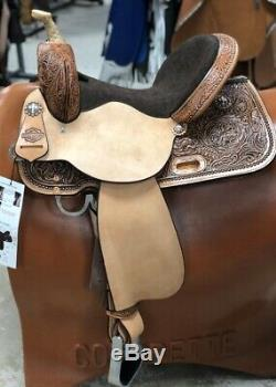High Horse (by Circle Y) 14 Eden Barrel Saddle Wide Tree 6225-7406-05 NEW