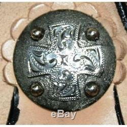 High Horse by Circle Y 16 Mansfield Barrel Saddle Wide Tree Tooled 6221-2606-05