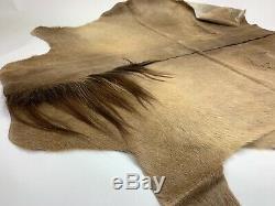 Icelandic Horse Skin Fur Rug Pelt Leather 100%Natural Reindeer Goat Sheepskin