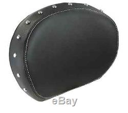 Indian motorcycle passenger backrest pad black chief vintage classic dark horse