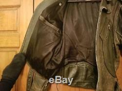 Iron Horse Vintage Indian Head Leather Jacket