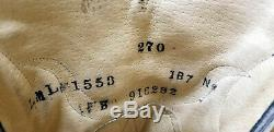 Larry Mahan Women's Ponyhair Inlay Cowboy Boots Mules Ear Vintage US Handmade 7