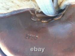 Lichten berger Ferguson Co Vintage Hand made Western Saddle (pt)