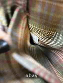 MULBERRY England Vintage Brown Small Leather Saddle Camera Shoulder Sling Bag