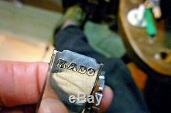 Mens 34.5mm RADO GREEN HORSE 25j AS 1700/01 Original Vintage 50's 7 wrist