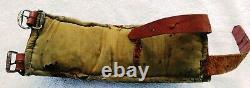 Original Leather Strap w 24 Antique Sleigh Bells Vintage Horse Jingle Bells Old