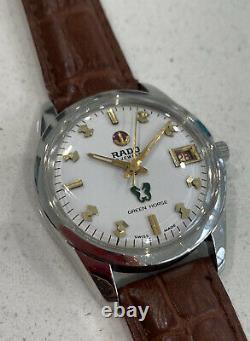 RADO Green Horse Automatic 1970s Vintage Swiss Watch