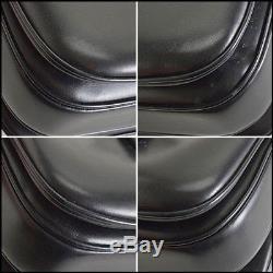 RDC8263 Authentic Gucci Vintage Black Leather Horse-Bit Flap Shoulder Bag